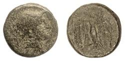Ancient Coins - SELEUKID KINGS, Antiochos III 'the Great'. AE denom B, uncertain mint. Athena / Nike