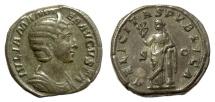 Ancient Coins - Julia Mamaea. AE sestertius. Rome mint. Struck under Severus Alexander, AD 228. Felicitas
