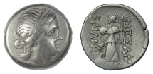 Ancient Coins - THRACE, Mesambria. AE 22, circa 175-100 BC