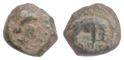 Ancient Coins - SELEUKID, Antiochos III 'the Great'. AE denom. C, Uncertain mint. Elephant. Scarce