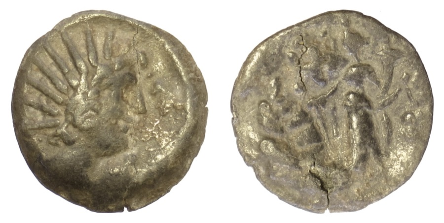 Ancient Coins - Imitative of SELEUKID KINGS. AE hybrid design, circa 2nd century BC