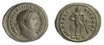 Ancient Coins - Maximinus II. AE follis, Cyzicus mint, struck 311-12 AD. Hercules