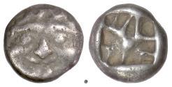 Ancient Coins - MYSIA, Parion. AR drachm, 5th-4th centuries BC. Gorgon