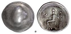 Ancient Coins - Eastern Celts, Imitation of Philip III of Macedon. AR tetradrachm, 2nd century BC