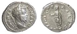 Ancient Coins - SEPTIMIUS SEVERUS. AR denarius. Rome mint, struck AD 201