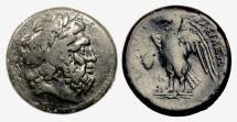 Ancient Coins - EGYPT/Sicily: AE litra imitating Ptolemy II from Sicilian Mint of Hieron II