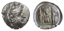 Ancient Coins - Persis, UNKNOWN KING I. AR obol, 2nd century BCE
