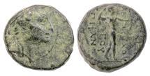 Ancient Coins - SELEUKID KINGS, Antiochos IV. AE denom C, circa 173-169 BC
