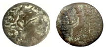 Ancient Coins - SYRIA, Seleukis and Pieria, Antioch(?). AE Tetrachalkon?  Fouree tetradrachm?