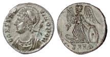 Ancient Coins - Roman: Constantinople City Commemorative. AE follis, Heraclea mint, 330-333 AD