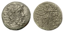 Ancient Coins - SYRIA, Seleucis and Pieria, Antioch. AE Tetrachalkon, circa 39-18 BC