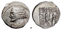 Ancient Coins - PARTHIA, Phraates IV. AR tetradrachm, Seleukeia on the Tigris, dated S.E. 278 (35/4 BC)