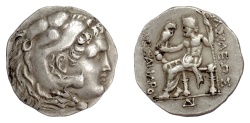 Ancient Coins - MACEDON. Alexander III 'the Great'. AR tetradrachm, Mesembria mint, 250-175 BC. Scarce