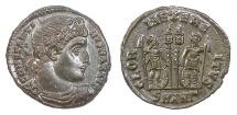 Ancient Coins - Constantine I. AE Follis, Antioch mint, 329-330 AD