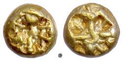 IONIA.  EL Hemihekte, circa 625-600 BC