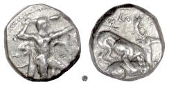 Ancient Coins - CYPRUS, Kition.  AR Stater, circa 425-400 BC