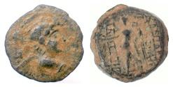 Ancient Coins - SELEUKID KINGS, Antiochos IX. AE denom B, Uncertain Phoenician mint, 112-101 BC