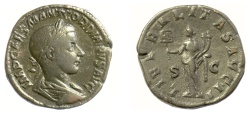 Ancient Coins - Gordian III. AE sestertius. Rome mint, struck AD 239