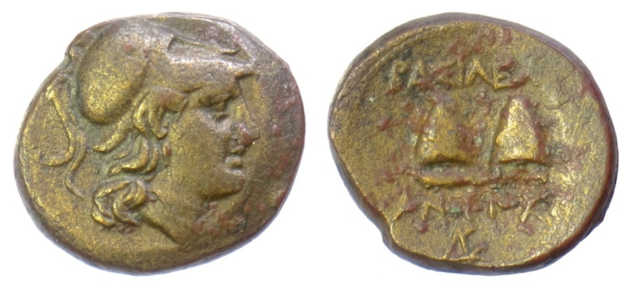 Ancient Coins - SELEUKID KINGS of SYRIA, Antiochos I Soter. AE denomination B, Tarsus mint. SCARCE