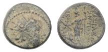 Ancient Coins - SELEUKID KINGS, Antiochos IV. AE denomination B, Antioch mint, circa 173-169 BC. Scarce