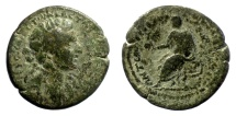 Ancient Coins - Marcus Aurelius. CILICIA, Hierapolis-Castabala. AE 29. AD 161-180. SCARCE