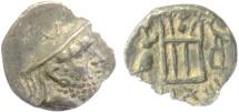 Ancient Coins - PERSIS, DARIUS I. AR hemidrachm, circa 125-100 BC
