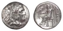 Ancient Coins - KINGS of MACEDON. Alexander III 'the Great'. AR tetradrachm, circa 325-310 BC