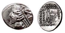 Ancient Coins - PARTHIA, Phraates IV. AR Drachm, Rhagai mint, struck circa 38-2 BC