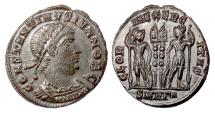 Ancient Coins - Constantine II. AE follis, Heraclea mint, 333-336 AD