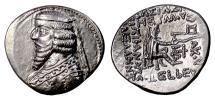 Ancient Coins - PARTHIA, Phraates III. AR Drachm, struck circa 62-57 BC