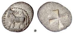 Ancient Coins - BITHYNIA, Kalchedon.  AR trihemiobol, circa 340-320 BC