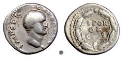 Ancient Coins - GALBA.   AR Denarius, Rome mint, April 68-Jan 69 AD