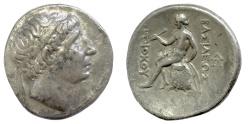 Ancient Coins - SELEUCID KINGS of SYRIA, Antiochus I Soter. AR Tetradrachm. Seleukeia on the Tigris mint, 281-261 BC