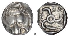 Ancient Coins - Lycia dynasts, Mithrapata.  AR Sixth Stater, circa 390-370 BC