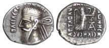 Ancient Coins - Parthia, VONONES I. AR Drachm, Seleukeia on the Tigris mint, circa 8-12 AD
