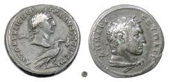 Ancient Coins - TRAJAN.  PHOENICIA, Tyre.  AR Tetradrachm, 100 AD
