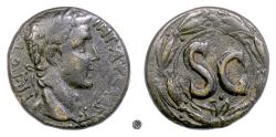 Ancient Coins - AUGUSTUS, Antioch.   AE As, struck circa 5-12 AD
