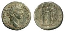 Ancient Coins - Marcus Aurelius, as Caesar. AE sestertius
