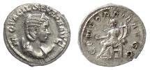 Ancient Coins - Otacilia Severa. AR Antoninianus, Rome mint. 247 AD. Concordia