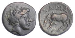 Ancient Coins - THESSALY, Larissa. AE chalkous, late 4th-early 3rd centuries BC