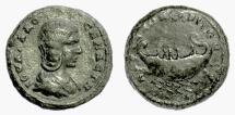 Ancient Coins - THRACE, Hadrianopolis. Julia Domna, Augusta, AD 193-217. AE 24