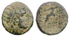 Ancient Coins - SELEUKID, Alexander I Balas. AE denom B, Uncertain mint, 152-145 BCE. Zeus