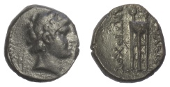 Ancient Coins - SELEUKID KINGS, Antiochos III 'the Great'. AE denomination B, Sardes mint.