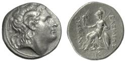 Ancient Coins - KINGS of THRACE, Lysimachos. AR Tetradrachm, Pella mint. Struck 286-281 BC