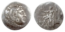 Ancient Coins - Alexander III 'the Great'. AEOLIS, Temnos. AR tetradrachm, circa 188-170 BC