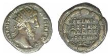 Ancient Coins - Marcus Aurelius. AE dupondius. Rome mint, struck AD 170/1