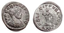 Ancient Coins - CARINUS. Antoninianus, Ticinum mint, 283 AD. Felicitas
