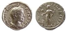 Ancient Coins - ELAGABALUS. AR denarius. Rome mint. Struck AD 2221