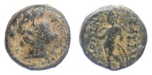 Ancient Coins - SELEUKID KINGS, Antiochos III 'the Great'. AE denom D, Antioch, 222-187 BC. Apollo