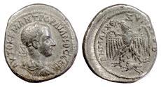 Ancient Coins - GORDIAN III. SYRIA, Seleukis and Pieria. Antioch. AR Tetradrachm, struck 242 AD
